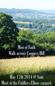 Coopers Hill - walk Saturday 17th May @ 8am
